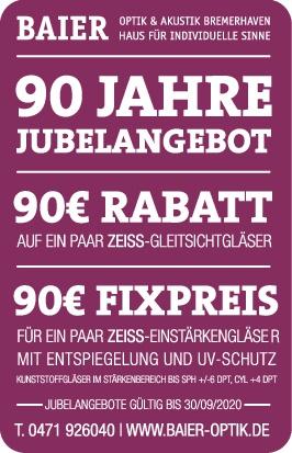 90 JAHRE BAIER OPTIK